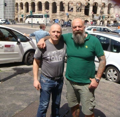 În dreapta, G. Iannone